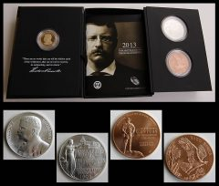 Theodore Roosevelt Coin and Chronicles Set Sells Out