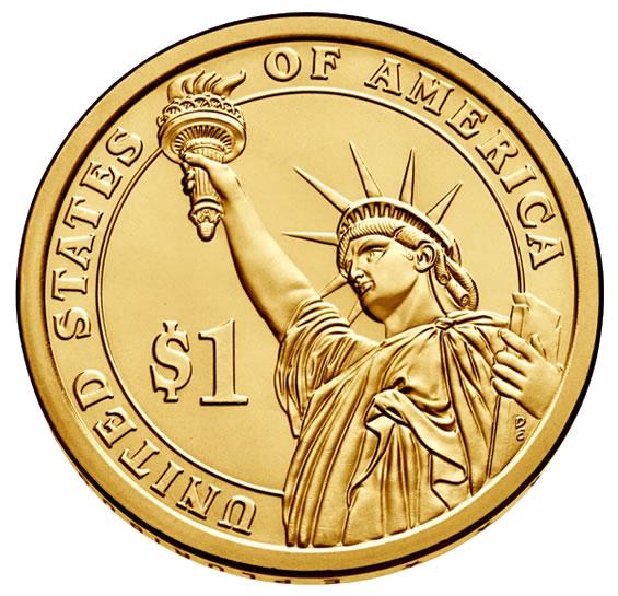 2015 D PRESIDENTIAL DOLLAR ROLL~John Kennedy~Head//Tail