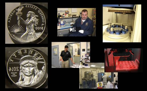 West Point Mint - Coin Die Polishing and Laser Frosting
