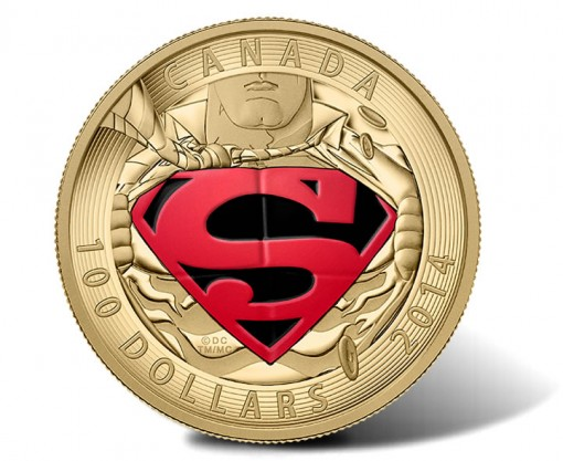 2014 $100 Superman 14-Karat Gold Proof Coin