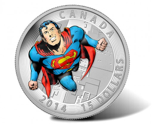 2014 $15 Superman Silver Proof Coin