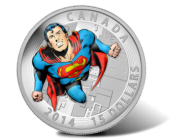 2014 Superman Coins Depict Timeless Dc Comics Covers