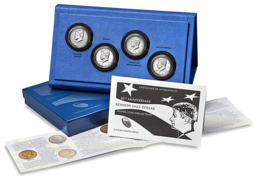 2014 50th Anniversary Kennedy Half-Dollar Silver Coin Collection