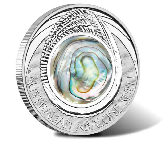 2014 Australian Abalone Shell Silver Proof Coin