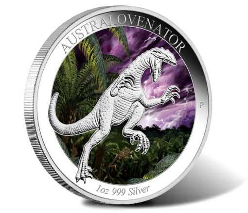 2014 Australovenator Silver Coin