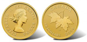 Gold Coin Series Features Four Queen Elizabeth II Effigies