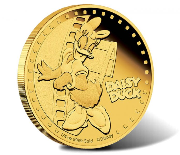 2014 Daisy Duck Gold Coin