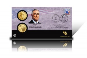 2014 Franklin D. Roosevelt $1 Coin Cover