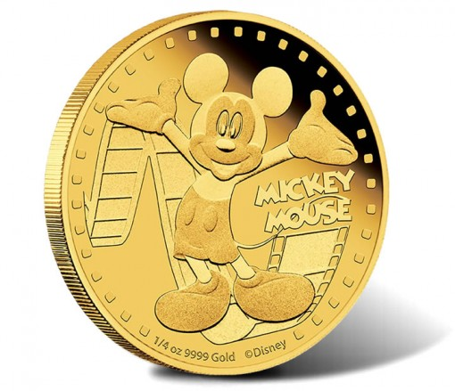 2014 Mickey Mouse Gold Coin