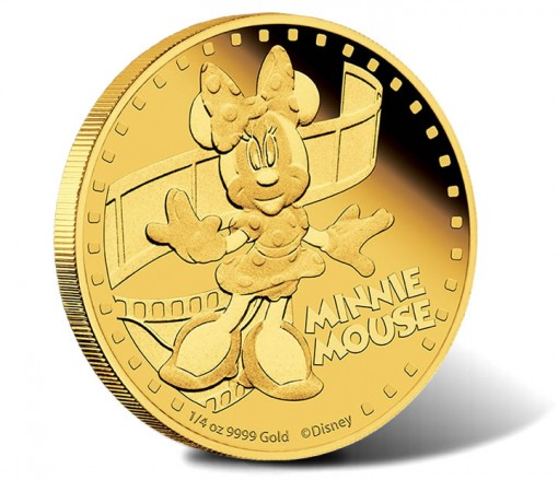 2014 Minnie Mouse Gold Coin