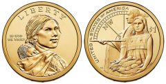 2014 Native American $1 Dollar Coin