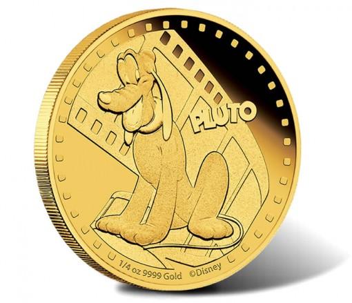 2014 Pluto Gold Coin