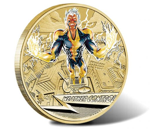 2014 Young Collectors Superpowers Series Weather Control Coin