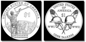 2015-2016 Native American $1 Dollar Design Images