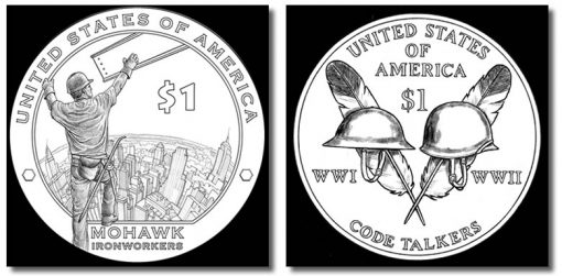 2015-2016 Native American Dollar Design