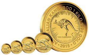 2015 Australian Kangaroo Gold Coins