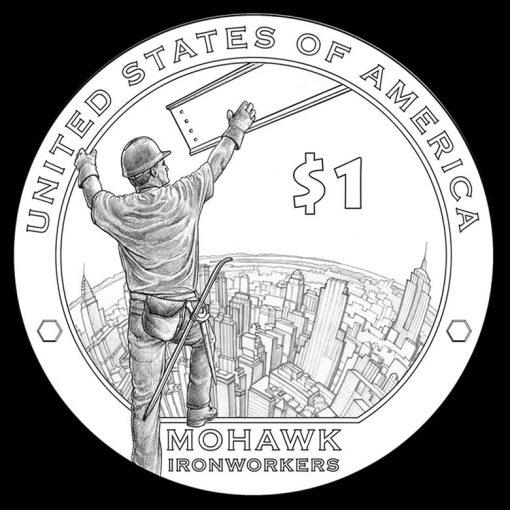 2015 Native American Dollar Design