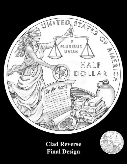 2015 US Marshals Service Cald Half-Dollar Design (Reverse)