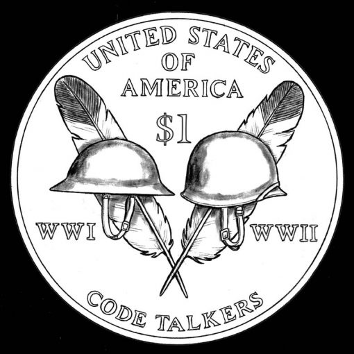 2016 Native American Dollar Design