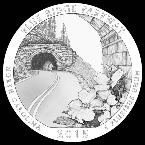 Blue Ridge Parkway Quarter and Coin Design