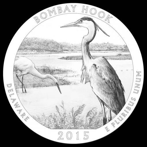 Bombay Hook National Wildlife Refuge Quarter and Coin Design