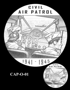 Congressional Gold Medal Design Candidate - CAP-O-01