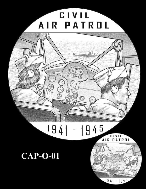 Congressional Gold Medal Design Candidate - CAP-O-01