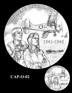 Congressional Gold Medal Design Candidate - CAP-O-02