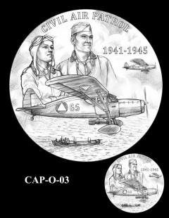 Congressional Gold Medal Design Candidate - CAP-O-03