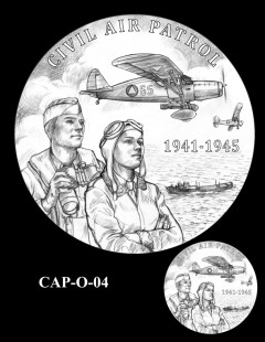 Congressional Gold Medal Design Candidate - CAP-O-04