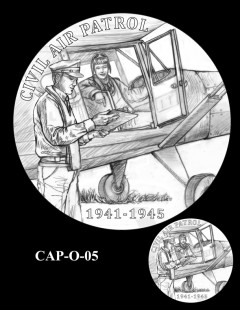 Congressional Gold Medal Design Candidate - CAP-O-05