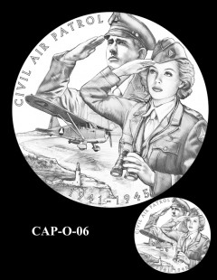 Congressional Gold Medal Design Candidate - CAP-O-06