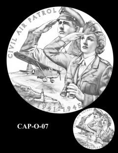 Congressional Gold Medal Design Candidate - CAP-O-07
