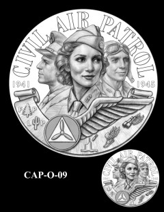 Congressional Gold Medal Design Candidate - CAP-O-09