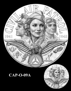 Congressional Gold Medal Design Candidate - CAP-O-09A