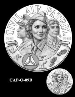 Congressional Gold Medal Design Candidate - CAP-O-09B