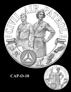 Congressional Gold Medal Design Candidate - CAP-O-10