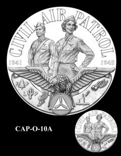Congressional Gold Medal Design Candidate - CAP-O-10A