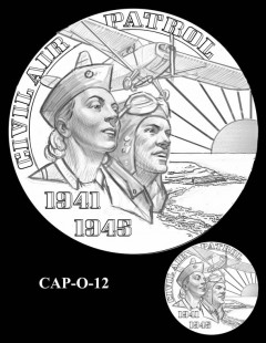 Congressional Gold Medal Design Candidate - CAP-O-12