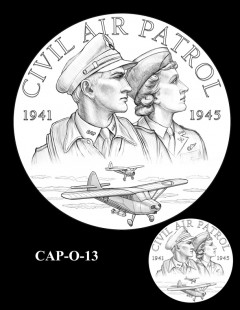 Congressional Gold Medal Design Candidate - CAP-O-13