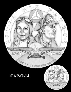 Congressional Gold Medal Design Candidate - CAP-O-14