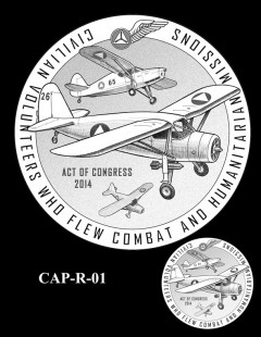 Congressional Gold Medal Design Candidate - CAP-R-01