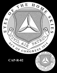 Congressional Gold Medal Design Candidate - CAP-R-02