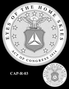Congressional Gold Medal Design Candidate - CAP-R-03