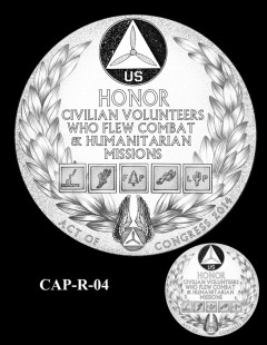 Congressional Gold Medal Design Candidate - CAP-R-04