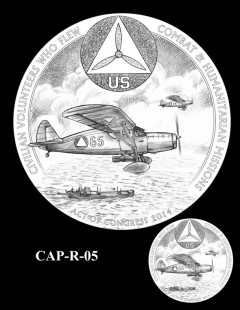 Congressional Gold Medal Design Candidate - CAP-R-05