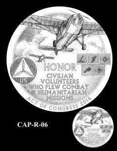 Congressional Gold Medal Design Candidate - CAP-R-06