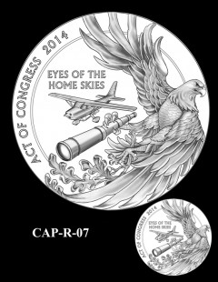 Congressional Gold Medal Design Candidate - CAP-R-07