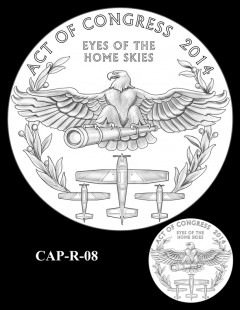 Congressional Gold Medal Design Candidate - CAP-R-08