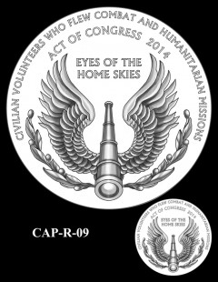 Congressional Gold Medal Design Candidate - CAP-R-09